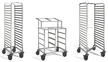 Various shelf trolleys