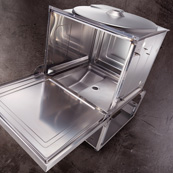 Stainless-steel dishwasher