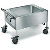 Cutlery soaking trolley