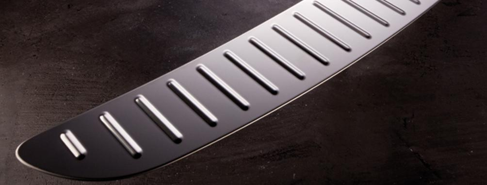 Stainless-steel trim