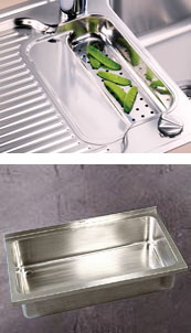 Colander and special sink